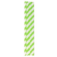 Lime Green Straw
