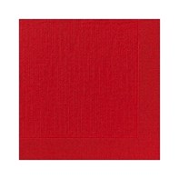 24cm 2ply Red Cocktail Napkin | Select Catering Solutions Ltd