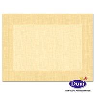 30 x 40cm Dunicel Linnea Cream Placemat | Select Catering Solutions Ltd