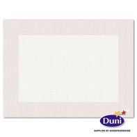 30 x 40cm Dunicel Linnea White Placemat | Select Catering Solutions Ltd