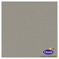 33cm 2ply Napkin Greige | Select Catering Solutions Ltd