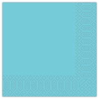 40cm 2ply Napkin Sky Blue | Select Catering Solutions Ltd