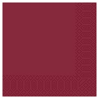 40cm 2ply Napkin Burgundy | Select Catering Solutions Ltd