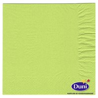40cm 2ply Kiwi Green Napkin | Select Catering Solutions Ltd