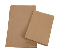 "8.5 x 8.5"" Kraft Strung Bag Qty 1000 | Select Catering Solutions Ltd"
