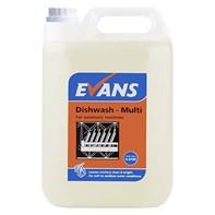 Evans Dishwash Multi 2x5L | Select Catering Solutions Ltd
