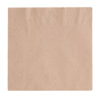 33cm 2ply Unbleached Napkin Qty 2000 | Select Catering Solutions Ltd