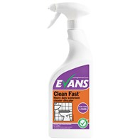 Clean Fast RTU Washroom Cleaner 750ml | Select Catering Solutions Ltd