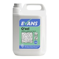 Q'Sol Superior Washing Up Liquid 2x5L | Select Catering Solutions Ltd