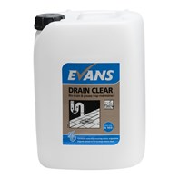 Evans Drain Clear 10L | Select Catering Solutions Ltd