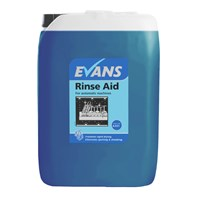 Evans Rinse Aid 10L | Select Catering Solutions Ltd
