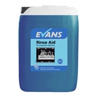 Evans Rinse Aid 20L | Select Catering Solutions Ltd