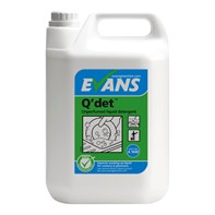 Q'Det (Q'Bac) Unperfumed Washing Up Liquid 2x5L | Select Catering Solutions Ltd