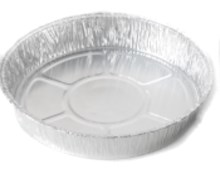 """6.5"""" Pie Flan Qty 900   Foil containers for baking"""