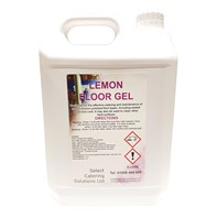Lemon Floor Gel 5L | Select Catering Solutions Ltd