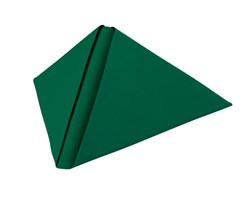 40cm Dunilin Dark Green Napkins Qty 540 | Select Catering Solutions Ltd