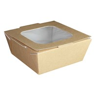 Medium Food to Go Box (With Window) | Select Catering Solutions Ltd