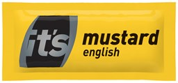 English Mustard Sachets 300x5g | Select Catering Solutions Ltd