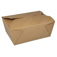 No.8 Leak Proof Brown Food Box | Select Catering Solutions Ltd