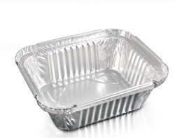 No 1 Foil Container (122x96x34mm) Qty 1000 | Select Catering Solutions