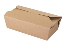No.5 Kraft Leak Proof Boxes Qty 150