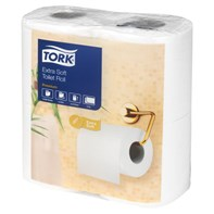 Tork Extra Soft 2ply Toilet Rolls pack 40 rolls | Select Catering Solutions Ltd
