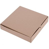 "10"" Kraft Pizza Box Qty100 