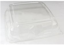 PET Square Clear Platter Lid 37x37 Qty25 | Select Catering Solutions Ltd