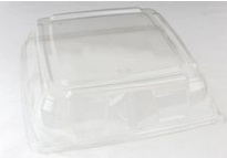 PET Square Clear Platter Lid 32x32 Qty25 | Select Catering Solutions Ltd