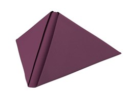 40cm Plum Dunilin Napkins Qty 540 | Select Catering Solutions Ltd