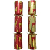 "12"" Winter Stag Crackers Qty 50 