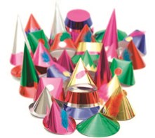 Starshine Adult Party Hats | Select Catering Solutions Ltd