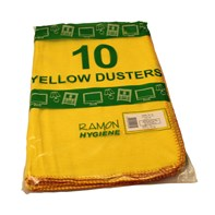 Yellow Dusters Qty 10