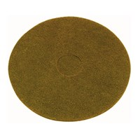 Tan Light Clean Buffing Pad Qty 5 | Select Catering Solutions Ltd