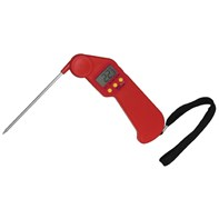 Hygiplas Easytemp Colour Coded Red Thermometer | Select Catering Solutions Ltd