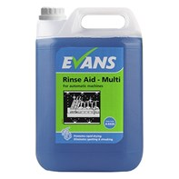 Evans Rinse Aid Multi 2x5L | Select Catering Solutions Ltd
