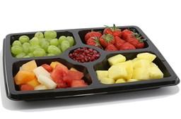 Deli Platter 5 Comp 32.5x26.5cm Qty50 | Select Catering Solutions Ltd