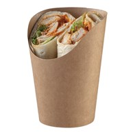 163ml/5.5fl oz Paperboard Kraft Wrap Cup | Select Catering Solutions ltd
