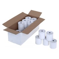 Thermal Credit Card Chip & Pin Roll 57x40mm Qty 20 (55GSM) | Select Catering Solutions Ltd