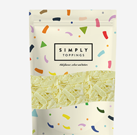 Simply White Chocolate Flakes 4x300g