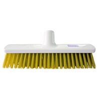 Hygiene Broom 40cm Medium Yellow   Select Catering Solutions Ltd