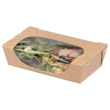 SP2 Large Tuck Top Salad Pack Kraft PE