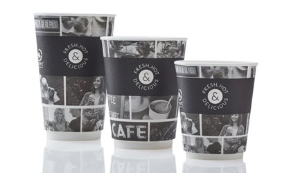9oz Cafe Life Smoothe Double Walled Cup