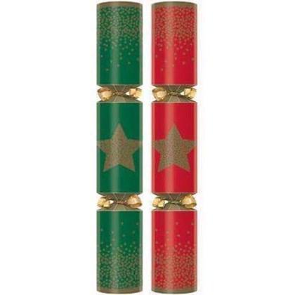 "11"" Festive Star Crackers Qty 100"