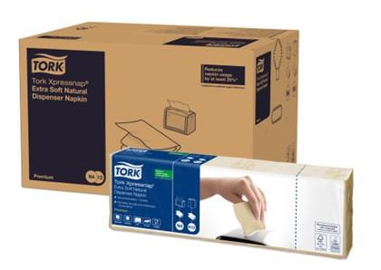 Tork N4 Xpressnap XSoft Kraft Napkins Qty 8000