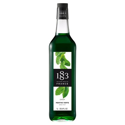 Routin 1883 Green Mint Syrup 1L