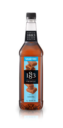 1883 Sugar Free Caramel Syrup 1 Litre