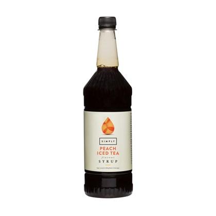 Simply Peach Iced Tea Syrup 1 Litre