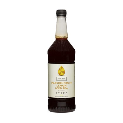 Simply Passion Fruit Iced Tea Syrup 1 Litre