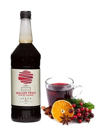 Simply Bottle Mulled Fruit Winter Warmer 1L